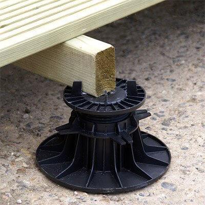 Bison Adjustable Deck Pedestals