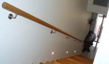STAIRS AND HAND RAILS