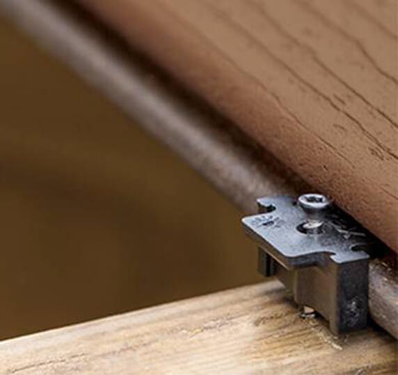 trex hidden deck fastener decking portfolio page